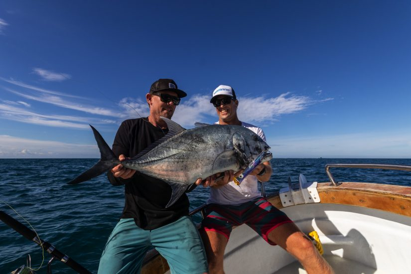 fishing namotu island gt giant trevally