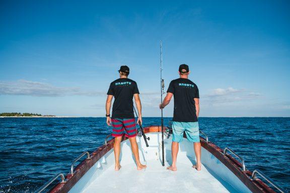 ika vuka namotu island casting boat fiji