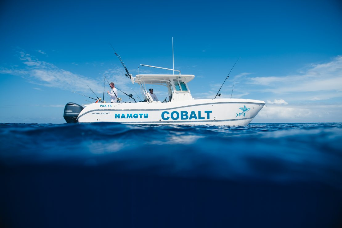 cobalt namotu charter luxury