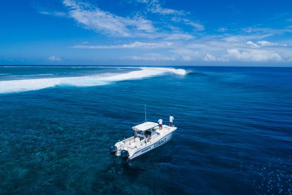 cobalt fishing surf charter boat namotu
