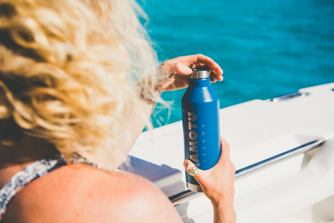 namotu island mizu reusable water bottle reduce plastic