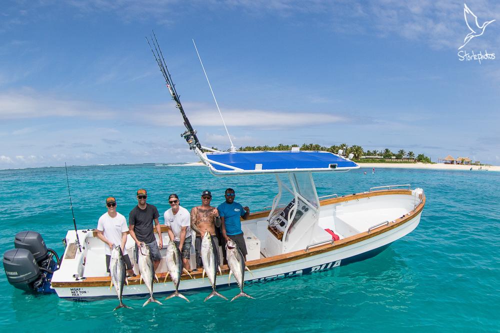 topwater fishing boats fiji