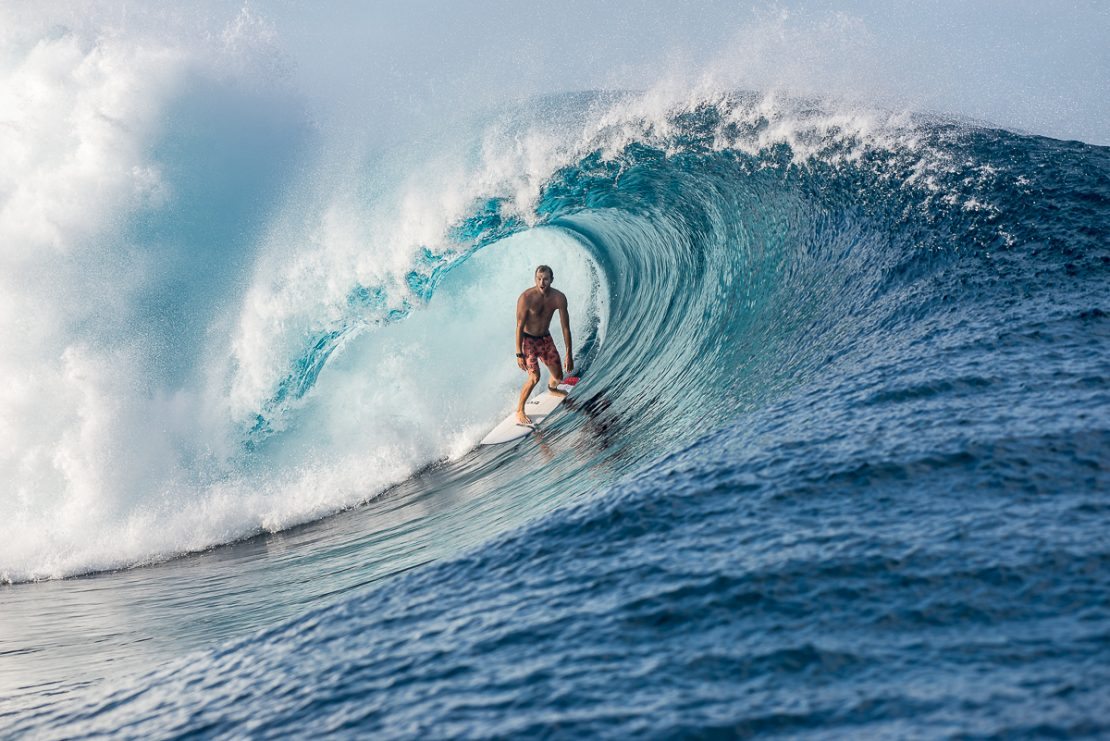 cyclone swell summer surfing fiji