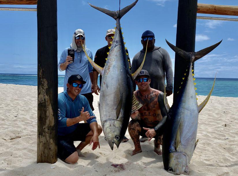 duane diego fishing namotu fiji yellowfin tuna