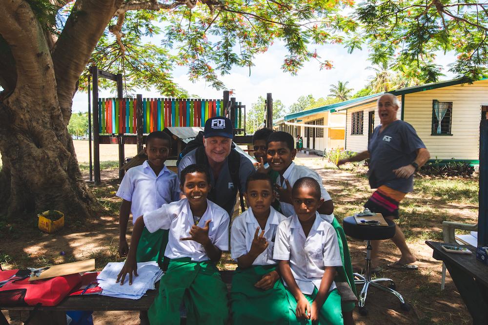 Fiji DMF founders in Solevu village